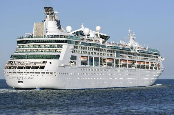 Photograph - Enchantment Of The Seas Heading To Sea by Bradford Martin