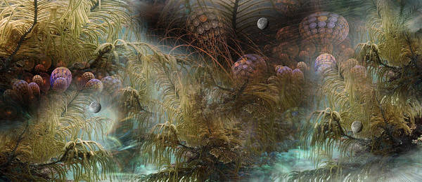 Fractal Landscape Digital Art - Enchantment...part The Second by Phil Sadler