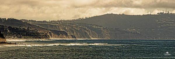 Encinitas Beach To La Jolla Art Print