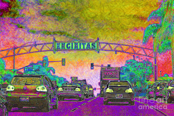 Photograph - Encinitas California 5d24221p68 by Wingsdomain Art and Photography