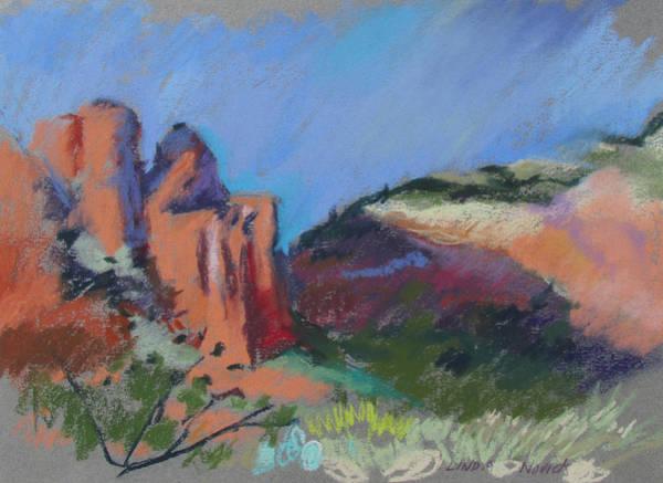 Painting - Encroaching Shadows by Linda Novick