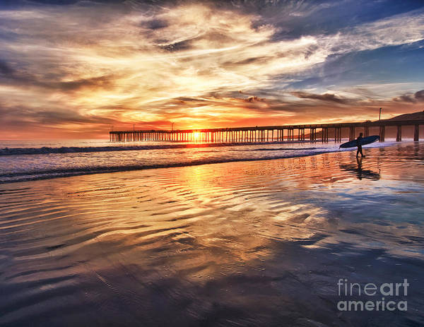 Photograph - End Of A Perfect Day by Beth Sargent