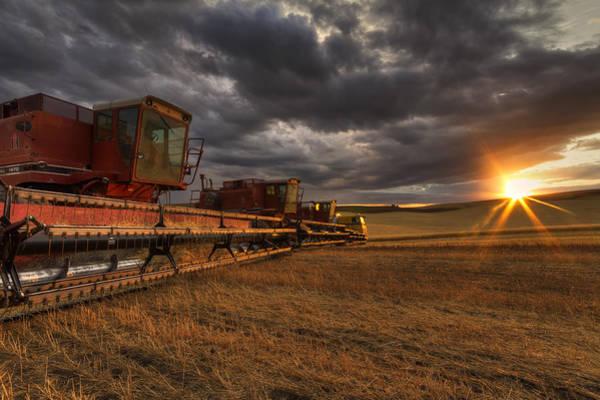 Spokane Photograph - End Of Day by Mark Kiver