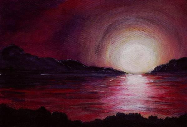 Painting - End Of The Day by Anastasiya Malakhova