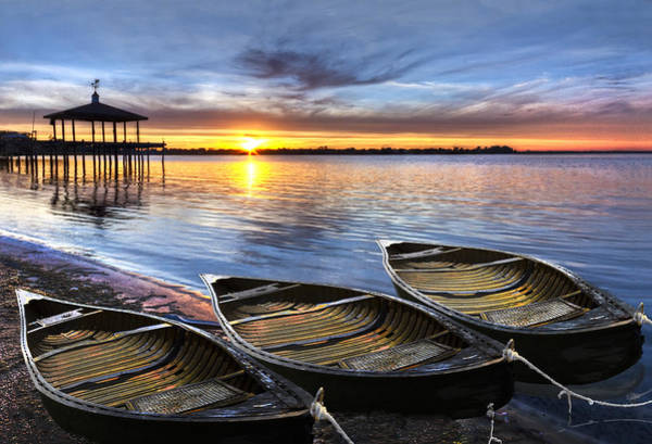 Photograph - End Of The Day by Debra and Dave Vanderlaan