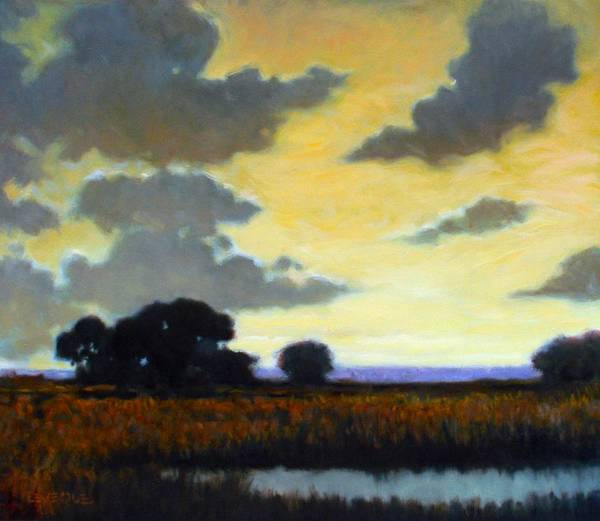 Wall Art - Painting - End Of The Day by Kevin Lawrence Leveque
