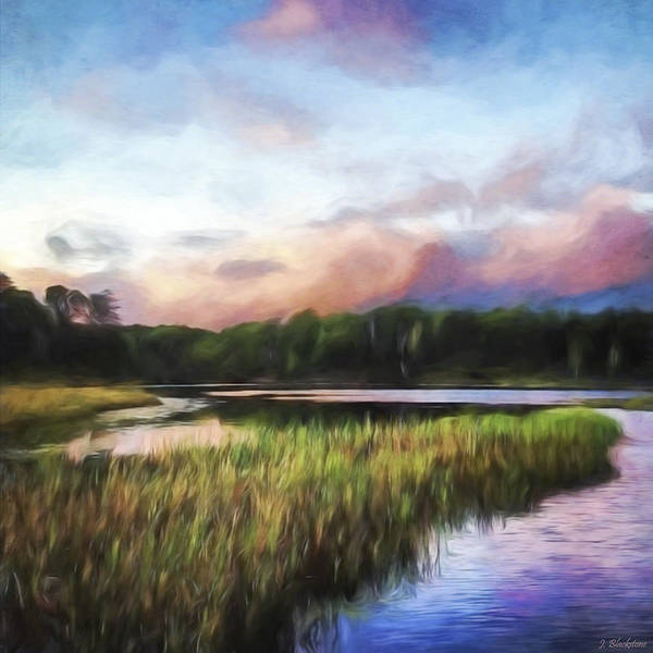 Painting - End Of The Day - Landscape Art by Jordan Blackstone