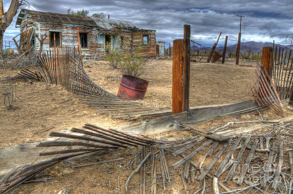 Desolation Photograph - End Of The Dream 2 by Bob Christopher