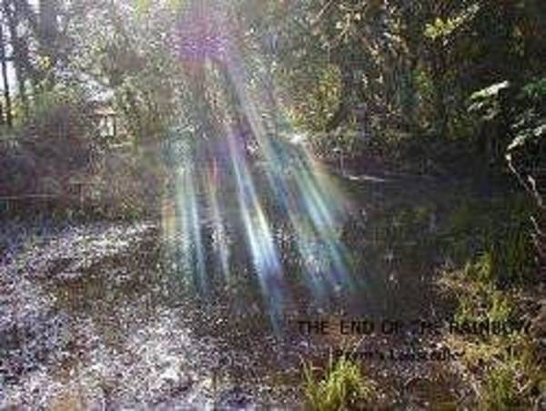 Indian Burial Ground Photograph - End Of The Rainbow by John Pavon