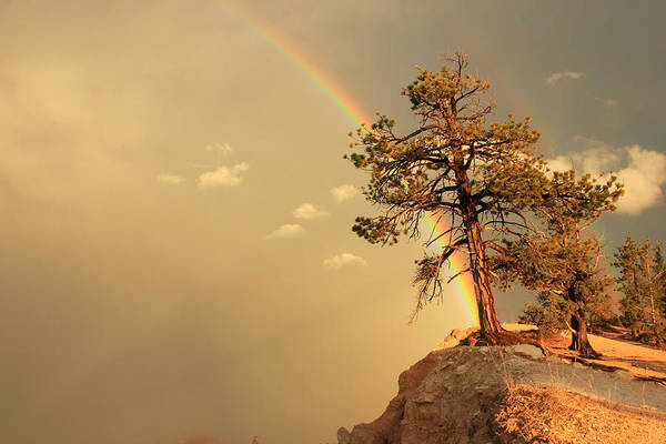 Awe Photograph - End Of The Rainbow. by Johnny Adolphson