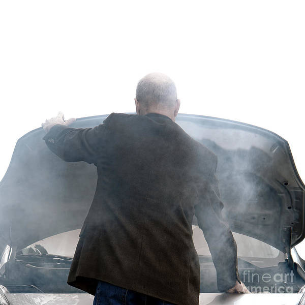 Car Wreck Wall Art - Photograph - End Of The Trip by Olivier Le Queinec