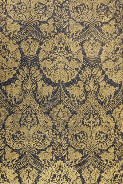 Emboss Wall Art - Tapestry - Textile - End Paper From A Book Published By Firmin Didot Of Paris by French School