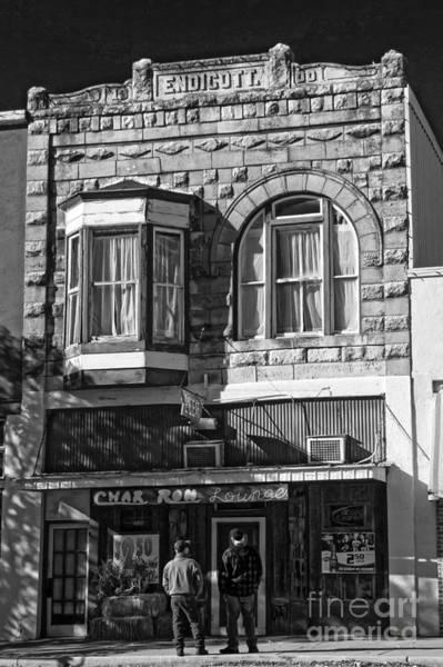 Photograph - Endicott Building Monochrome by Jim McCain