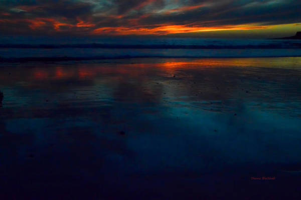 Wall Art - Photograph - Ending Reflections by Donna Blackhall