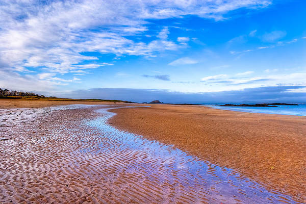Photograph - Endless Beach Sands - North Berwick Scottish Seaside by Mark Tisdale
