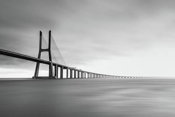 Grey Photograph - Endless by Jan Stria