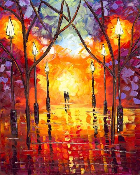 Endless Love Painting - Endless Love by Jessilyn Park