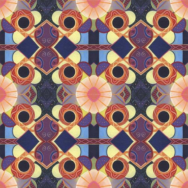 Painting - Endless Potential - A Beauty In Symmetry 1 Compilation by Helena Tiainen