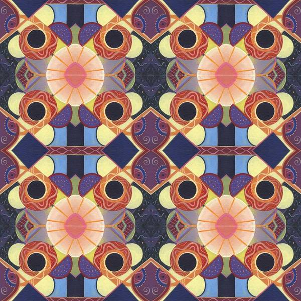 Painting - Endless Potential - A Beauty In Symmetry 4 Compilation by Helena Tiainen