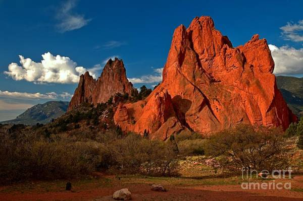 Photograph - Endless Red Rock Towers by Adam Jewell