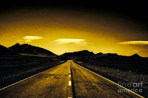 Photograph - Endless Road by Karla Weber