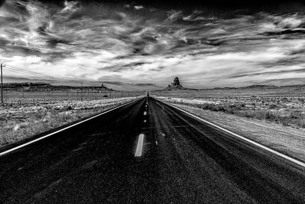 Photograph - Endless Road Rt 163 by Louis Dallara