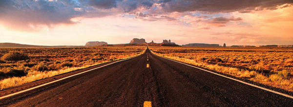 Photograph - Endless Road To Monument Valley by Kim Lessel