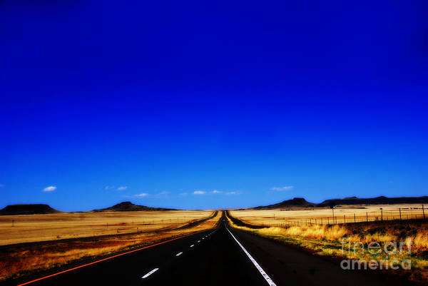 Photograph - Endless Roads In New Mexico by Susanne Van Hulst