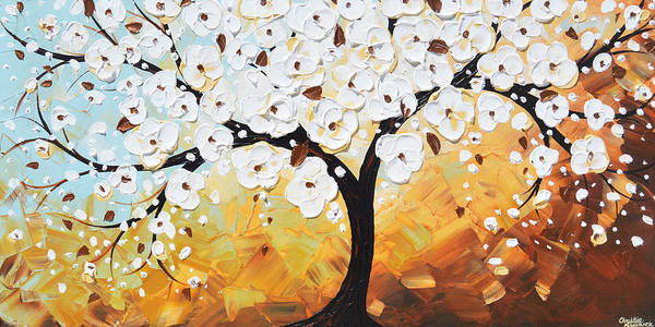Wall Art - Painting - Endless Twilight - Tree Of Life by Christine Bell