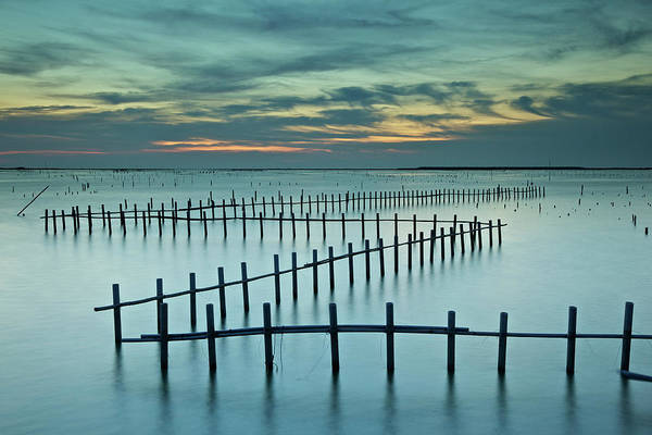 Fish Trap Photograph - Endlessness by Sunrise@dawn Photography