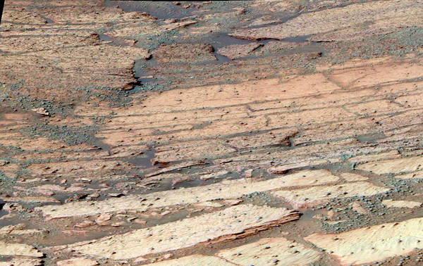 Endurance Wall Art - Photograph - Endurance Crater by Nasa/science Photo Library