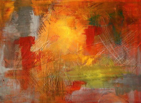 Scribble Painting - Energy Burst by Nancy Merkle