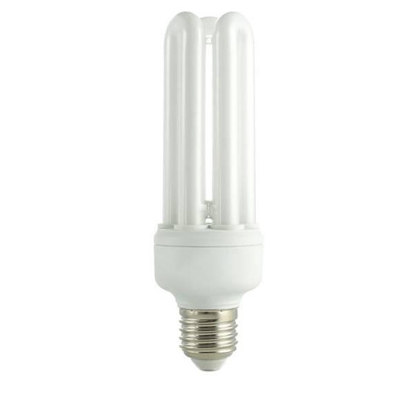 Energy-saving Wall Art - Photograph - Energy Saving Lightbulb by Science Photo Library