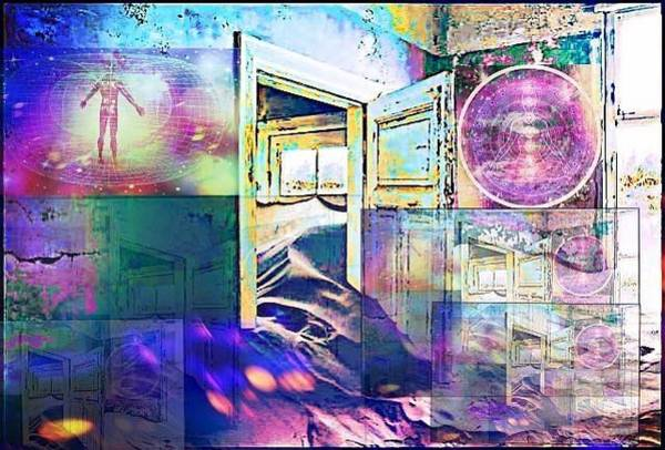 Digital Art - Energy Vortex Gateway by Karen Buford