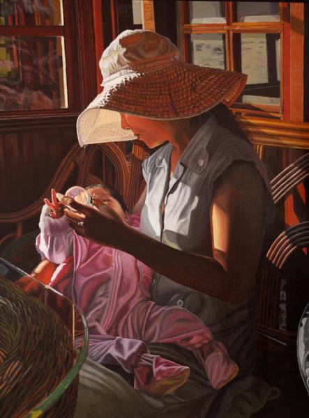 Enfamil At Ha Long Bay Vietnam Art Print