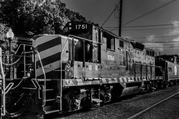 Photograph - Engine 1751 by Randy Scherkenbach