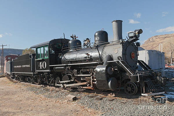Photograph - Engine 40 In The Colorado Railroad Museum by Fred Stearns