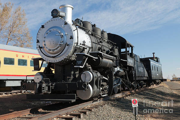 Photograph - Engine 4455 In The Colorado Railroad Museum by Fred Stearns