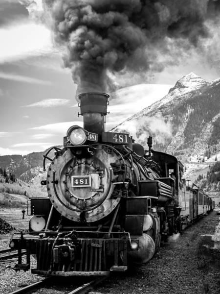 Photograph - Engine 481 by Robert Yone