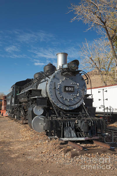 Photograph - Engine 491 In The Colorado Railroad Museum by Fred Stearns