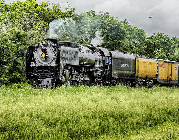 Photograph - Engine 844 Passing By. by Charles McKelroy