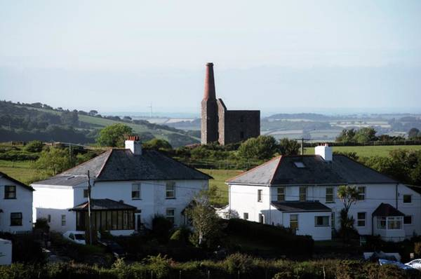 Engine House Wall Art - Photograph - Engine House Chimney At Minions by Sinclair Stammers