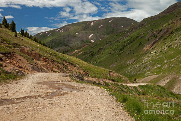 Photograph - Engineer Pass Road by Fred Stearns