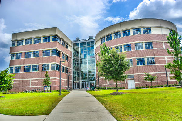 University Of West Florida Photograph - Engineering Building 3 by Jon Cody