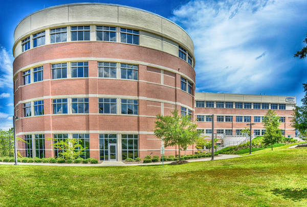 University Of West Florida Photograph - Engineering Building Uwf by Jon Cody