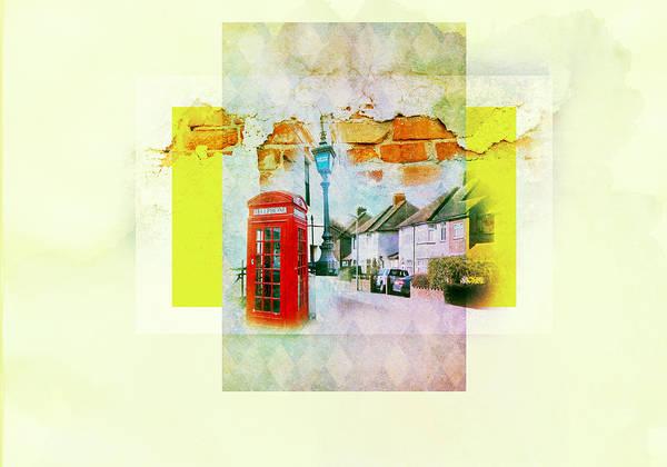 Brick House Mixed Media - England by Lora