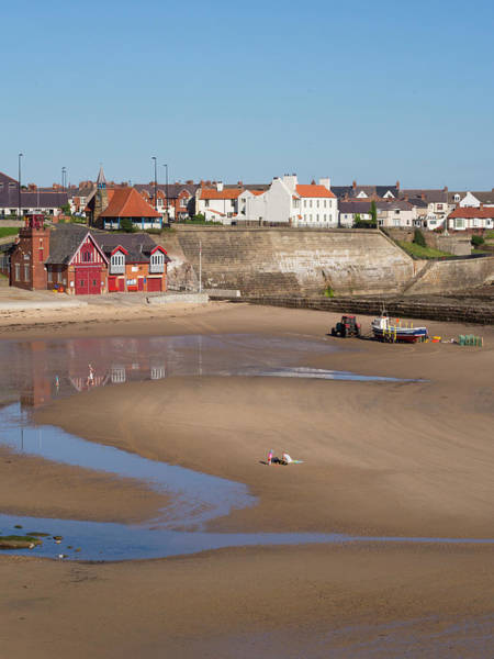 Moored Photograph - England, Tyne And Wear, Cullercoats by Jason Friend Photography Ltd