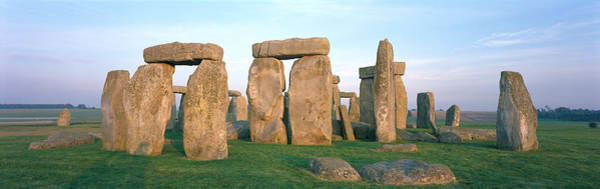 Druid Wall Art - Photograph - England, Wiltshire, Stonehenge by Panoramic Images
