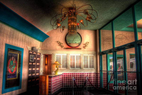 Ish Wall Art - Photograph - Englewood Theater 4597 by Timothy Bischoff