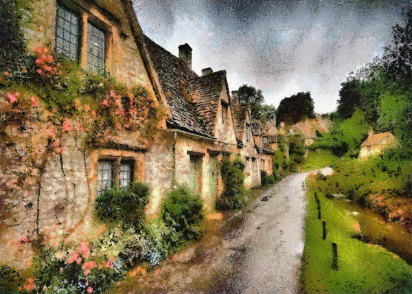 Photograph - English Cottages by Charmaine Zoe